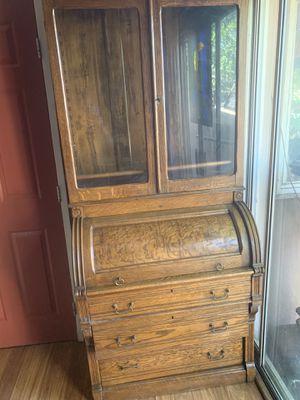 Antique American Oak Secretary Desk for Sale in San Diego, CA