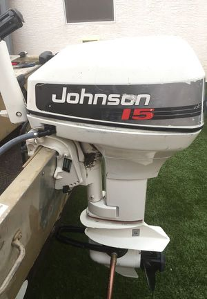 Johnson 15hp outboard motor for Sale in Las Vegas, NV