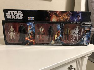 "Star Wars Toys ""R"" Us exclusive the force awakens six pack figure set brand new sealed for Sale in Fremont, CA"