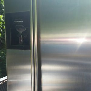 Stainless refrigerator 90 days warranty for Sale in Annandale, VA