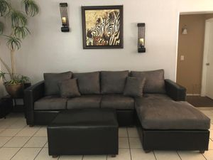 Sectional with ottoman ¡¡NEW!! for Sale in Phoenix, AZ