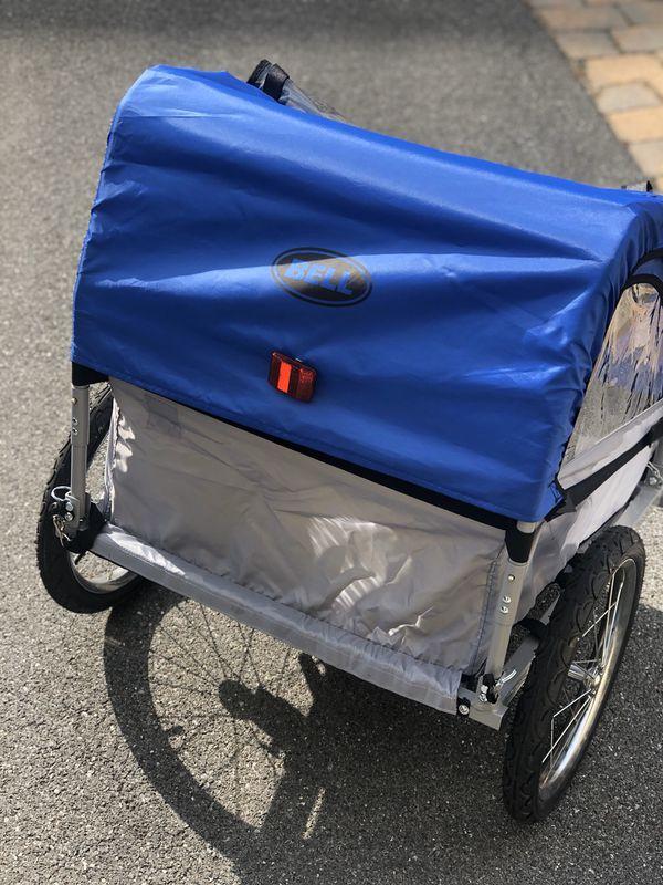 Bell Two-Children Pull Behind Bike Trailer