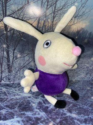 """Peppa Pig - Richard rabbit 8"""" plush for Sale in Bellflower, CA"""