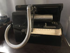 Antique Dictaphone model 12 steampunk for Sale in Bend, OR