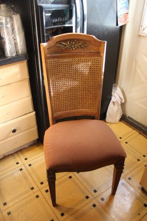 Antique Wooden (Brown) Chair / NEGOTIABLE (2) for Sale in Jersey City, NJ