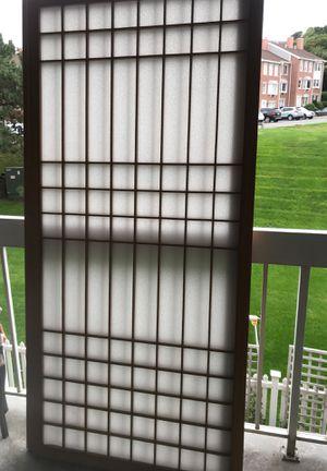 Japanese 9 ft sliding door blinds for Sale in Peabody, MA