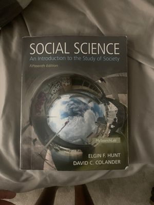 Social Science An Introduction to the Study of Society for Sale in Miami, FL