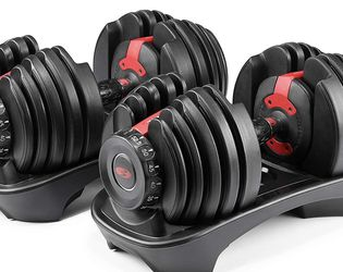 Bowflex Select Tech 552 Adjustable Dumbbells (PAIR) for Sale in Brooklyn,  NY