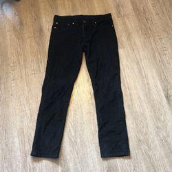 Levi 511 Size 34 Black Courderoy for Sale in Kirkland,  WA