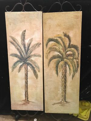 Wall Decor Palm Trees 🌴 for Sale in Chesapeake, VA