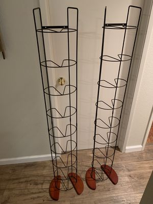 Two DVD Racks. Holds 90 DVDs each. Both for $10 for Sale in Rio Vista, CA