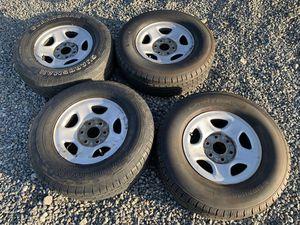 Silverado Sierra Tahoe Yukon suburban wheels and tires for Sale in Moreno Valley, CA