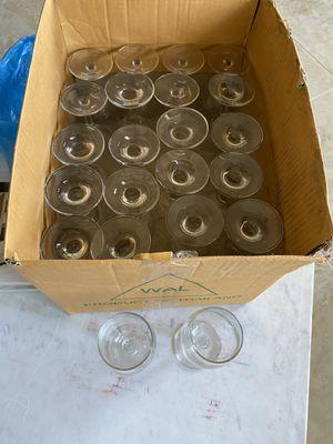 WINE GLASSES (22 count) for Sale in Saratoga, CA