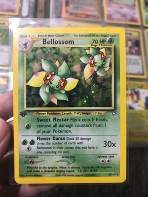Neo Bellossom First Edition Pokemon Card for Sale in Bristol, CT