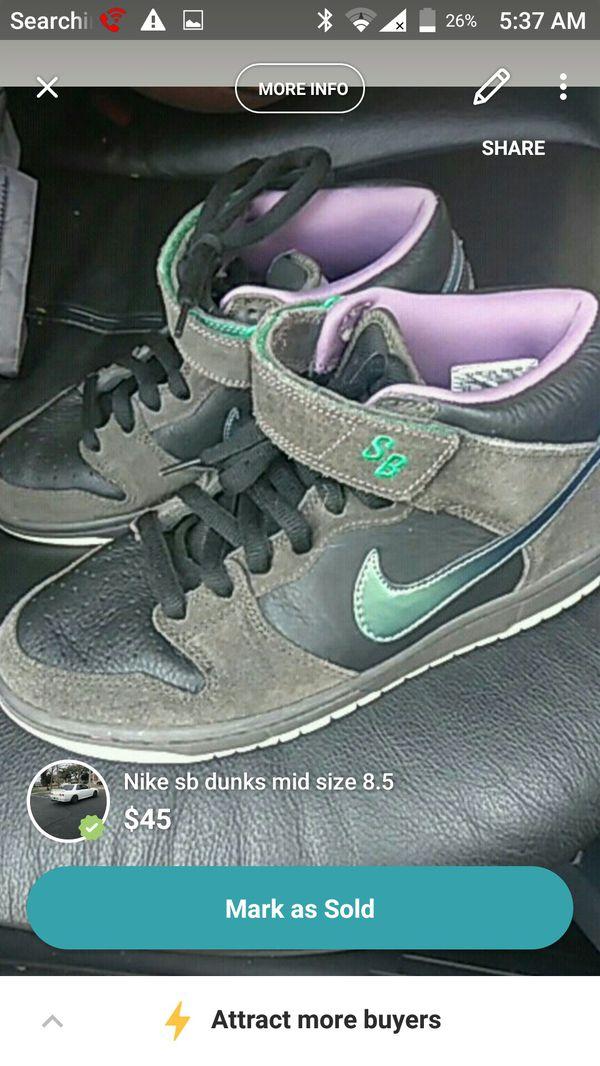 newest 6761b dd469 Nike sb dunks mid