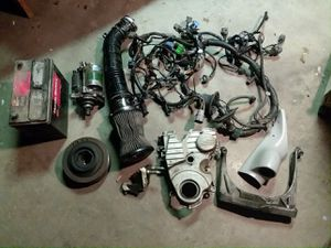 Honda Civic d16 misc parts for Sale in Fresno, CA
