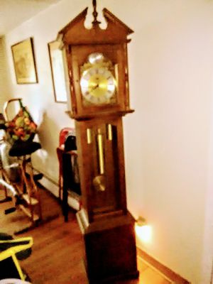 Working Grandfather clock for Sale in Newburgh, ME
