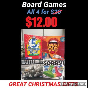 Board Games for Sale in Port Richey, FL