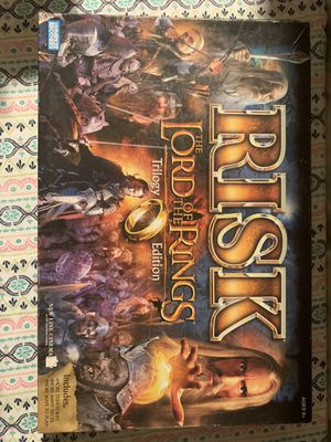 Lord of the rings risk board game trilogy edition for Sale in Modesto, CA