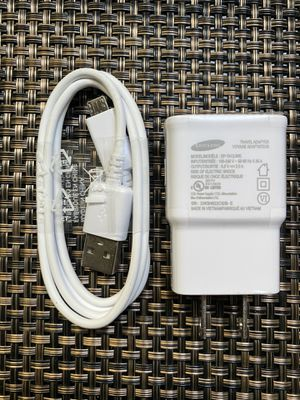 Samsung Wall Charger Kit Adaptive Fast Charge Compatible Samsung Tablet/Phone Galaxy S7 / S7 Edge / S6 / S6 Plus / A6 / J7 / J3 / Note5 4, USB 2.0 Ch for Sale in Carson, CA