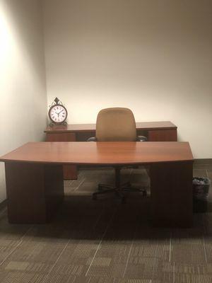 Office Desk and Credenza for Sale in Atlanta, GA
