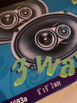 "Polk Audio EX Series II 6x9"" Car Speakers for Sale in Old Bridge Township,  NJ"