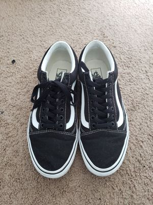 Vans Old Skool Black Size 10 No Box for Sale in Los Angeles, CA