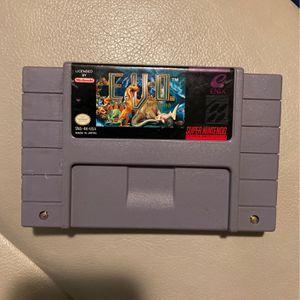 EVO SNES Super Nintendo Game For Sale for Sale in Central, LA