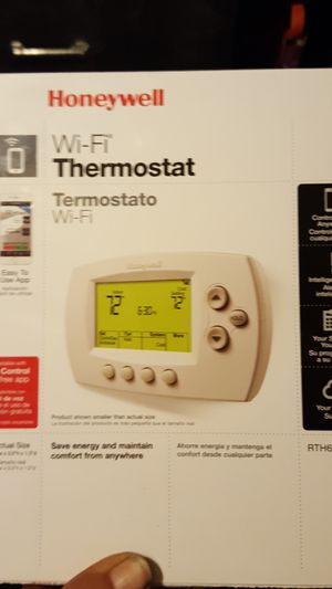 Honeywell wi fi thermostat for Sale in Boston, MA