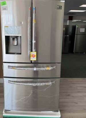 Samsung Fridge! 4 door brand new! Never used comes with Warranty! 7ROO9 for Sale in Corona, CA