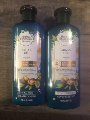 Herbal essences bio renew Argan oil shampoo and conditioner set for Sale in San Bernardino, CA