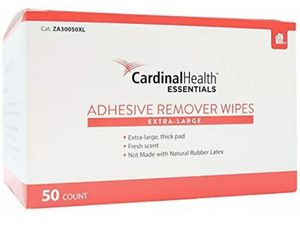 Cardinal Health Adhesive Remover Wipes - Extra Large - Box of 50 Wipes for Sale in Stafford, TX