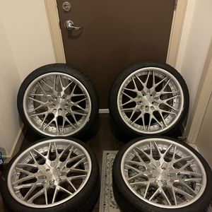 Infinitewerks 3Piece Wheels for Sale in Silver Spring, MD