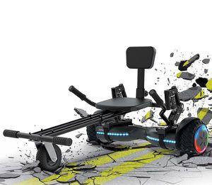 Jetson Hoverboard JetKart Go Kart Extreme Terrain Combo Patineta Eletrica Z12KA-BK for Sale in Doral, FL