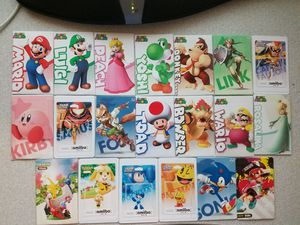 Nintendo Switch/Wii U Mario Kart 8 Deluxe NFC 20Pcs Compatible amiibo for Sale in Lynnwood, WA