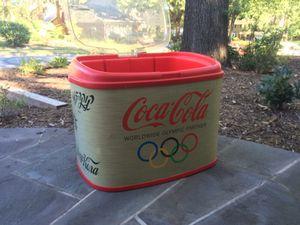 Coca Cola cooler beverage ice chest Coke for Sale in Springfield, VA
