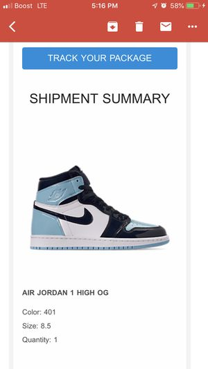 AIR JORDAN 1 BLUE CHILLS DEADSTOCK SIZES 8.5 WOMEN /7MEN for Sale in Berwyn Heights, MD