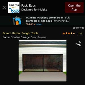 """""""NEW"""" Double Garage Door Screen for Sale in Everett, WA"""