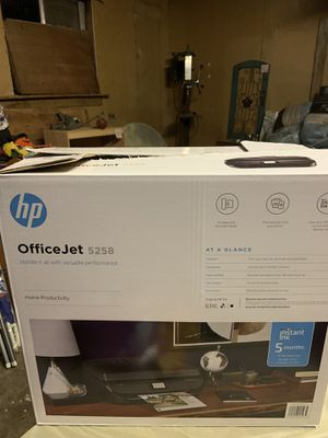 Office jet printer with ink for Sale in Lakewood, WA