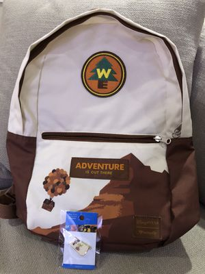 Disney Pixar's UP Backpack and Trading Pin for Sale in Los Angeles, CA