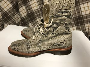 Dr. Martens Suede Snake Skin Boots for Sale in Oxon Hill, MD