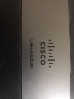 Cisco Linsys Router for Sale in Beltsville, MD