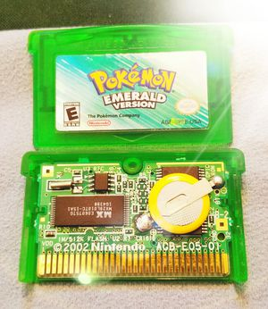 Original Pokemon Emerald Collector MINT Condition Fully Restored New Battery for Sale in Oak Glen, CA