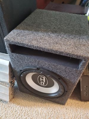 Car subwoofer for Sale in Yelm, WA