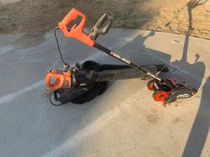 Leaf blower/vacuum and lawn edger for Sale in Norco, CA