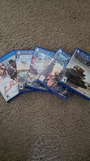 PS4 Game Bundle for Sale in Frisco, TX