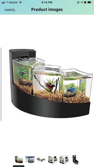Beta fish tank Cascade 3 in 1 for Sale in Alafaya, FL