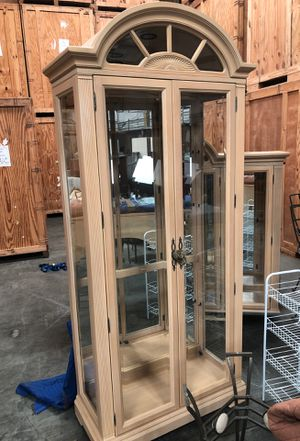 Nice tall china cabinet for Sale in North Chesterfield, VA