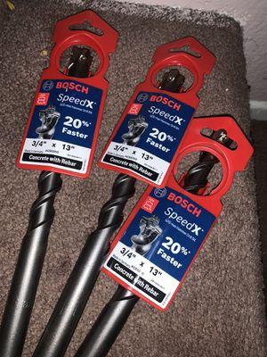 "3/4 x13"" BOSH MAX HAMMER DRILL BIT SDS for Sale in Gardena, CA"