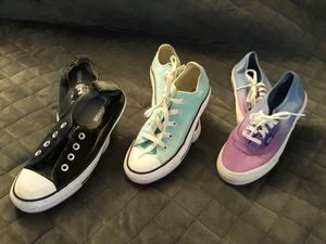 Van's and converse for Sale in Brighton, CO